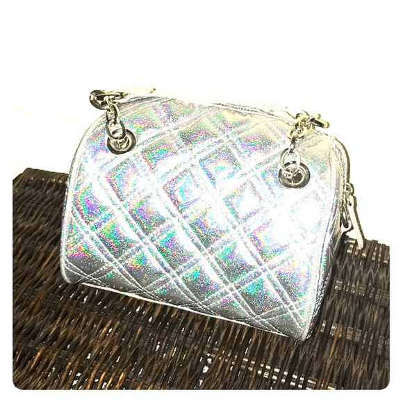 Claire's Handbags - NWT Claire's holographic small purse in silver